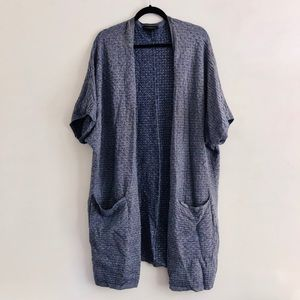 lane bryant Textured Patch Pocket Duster (2 avail)
